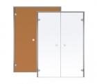 Двери двойные Harvia ALU